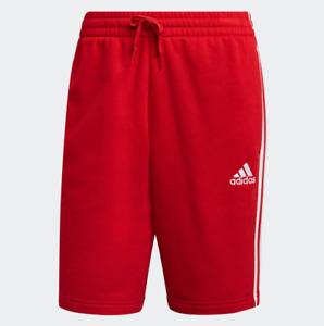 adidas Men's Essentials Fleece 3-Stripes Shorts