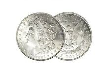 BRILLIANT UNCIRCULATED 1921 MORGAN SILVER DOLLAR BLAST WHITE COIN