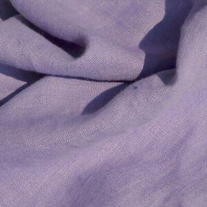 """Textiles français 100% Linen Fabric - Rich Lavender 150 cm/59"""" wide - per 50 cm"""