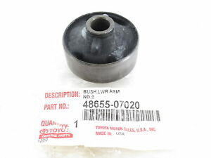 Genuine OEM Toyota 48655-07020 Front Suspension Lower Arm Bushing