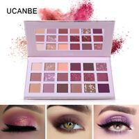 UCANBE Aromas Nude Eyeshadow Palette 18 Color Shimmer  Matte Glitter Eye Shadow