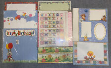Huge Lot Suzy'S Zoo 12x12 Scrapbook Paper Stationary Page Kits - Rare!