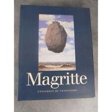 René Magritte Catalogue Exposition du centenaire 1998 livre de référence beaux a