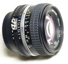 Nikon Nikkor 50mm f1.4 AI-S lens manual focus NICE