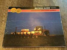 1981 International Harvester Buyers Guide Equipment Dealers Brochure Book