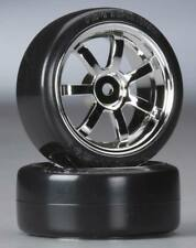 HPI 4739 T-Drift / Rays 57S Pro Wheel 26mm Chrome (2) Mounted Sprint 2 Nitro E10
