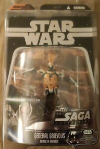 BOXED STAR WARS THE SAGA COLLECTION GENERAL GRIEVOUS DEMISE HASBRO ACTION FIGURE