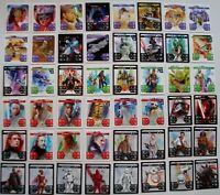 Kaufland Star Wars alle 48 Karten Komplettsatz Starwars Sammel Aktion Sticker