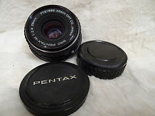 PENTAX-M SMC, 28MM F2.8 LENS IN MINT CONDITION, PK MOUNT MANUAL FOCUS.