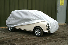 Mini Classic Car Cover Indoor/Shower Proof  Breathable Soft Lining With Straps