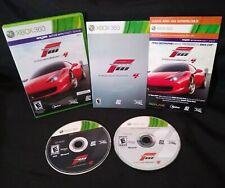 Forza Motorsport 4 (Microsoft Xbox 360, 2011) COMPLETE CIB