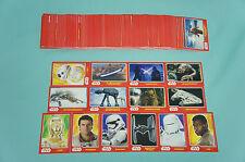 Topps Star Wars Das Erwachen der Macht alle 160 Basiskarten komplett Force Neu