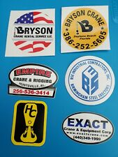 Red Adair Hard Hat Sticker 1980/'s OilField Sticker Mining Union