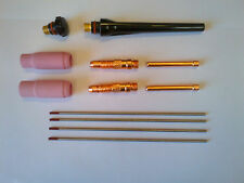WP17, WP18 & WP26 Kit Accessori Torcia TIG 2.4 MM ACCIAIO DOLCE & ST/ST