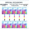 2014 - Australia - Special Occasions Firework - 70¢ - gutter strip of 10 - MNH