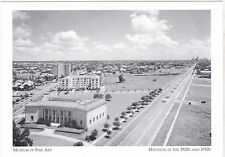 "+PC-Postcard-""The Museum of Fine Art"" (1928) ...1920's-30's/Houston Tx (A5-1)"