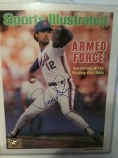 Ron Darling Signed Sports Illustrated Photo 11x14 NY New York Mets Baseball COA