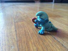 Puffo Babypuffo Baby Peyo Schleich Da Collezione 1984