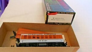 HO Scale Roundhouse 34' Overland Dispatch Overton Coach Car, #3, Silver, Built