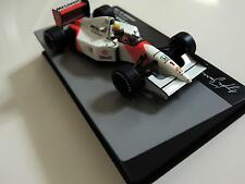 Ayrton Senna 1:43 Mini MCLAREN Honda MP4/7 92 f1 / car model,champs, IXO Mint