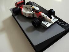 Ayrton Senna 1:43 Mini MCLAREN Honda MP4/7 92 f1 / car model,champs, IXO Mint