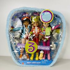 Mattel Wee 3 Friends snow! snow! snow! MATTEL 2004 original full set Brand New