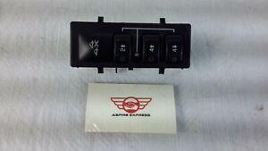 2006 Chevrolet GMC 2500 HD 4x4 Transfer case Wheel Drive Selector Switch OEM