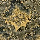"Beautiful Antique 19c Wool Ingrain Scotch Carpet Rug Remnant 35""x 18"" (d)"