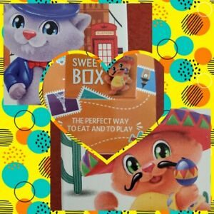 2020 Fluffies around the world Sweet Box Gummies and 1 toy not opened sealed box
