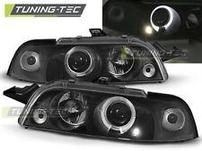 Headlights For FIAT PUNTO 1 11.93-09.99 ANGEL EYES BLACK..