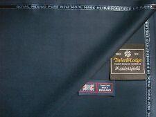"Royal laine mérinos ""Indigo queen bleu"" drap tissu par: Taylor & Lodge - 3.4 M"