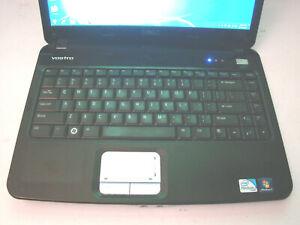 Dell Vostro 1014/Core2Duo T7250 2.00ghz/3gb/80gb/Windows 7 Home/Webcam/BT/14/Vga