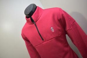 Adidas Golf Jacket ClimaWarm Zip Neck Pink Long Sleeve Fleece Mens Size Medium