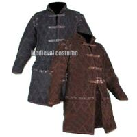 Winter Gift New Gambeson Thick Padded Medieval Jacket Armor SCA COSTUMES DRESS