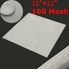 100 Maille / 150 Microns Acier Inoxydable 304 Filtre Filtration Tissé Câble