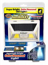 Atomic Beam SunBlast Solar Powered LED Light Motion Activated Peel & Stick