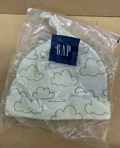 BNIP Gap Baby Cloud Hat 100% Organic Cotton Cream FREE DELIVERY