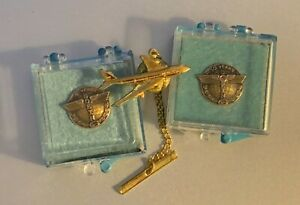 Boeing Company Pins - Two Service Pins and One Tie Pin