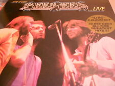 BEE GEES - Here at last...Live,DoLp,FOC,OIS