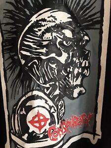 Conspiracy punk heavy metal rock Band Tshirt