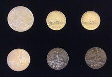 6 Monete Argento: 5 ecu Carlo V 1987 (1), 10 marchi 1972 (3), 500 lire (2).