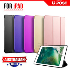For Apple iPad 5 6th 7th Gen Air 1 3 10.5 2019 Pro Leather Shockproof Case Cover