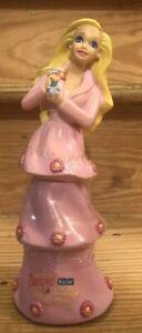 Vintage 1996 Barbie MATTEL Unopened Bubble Bath Princess Container Bottle
