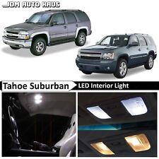 20x Bulb White Interior Led Lights Fits Chevy Tahoe Suburban Gmc Yukon 2000-2014