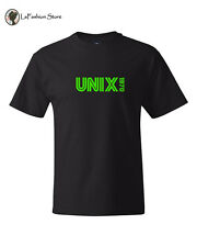 Unix 1970 Linux Shell Systems T shirt S-5XL
