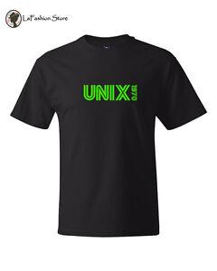 Unix 1970 Linux Shell Systems T shirt S-5XL
