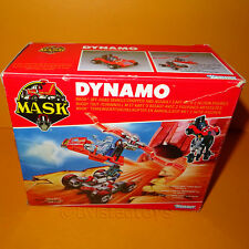 VINTAGE 1987 80s KENNER M.A.S.K MASK DYNAMO OFF-ROAD VEHICLE/CHOPPER BOXED CHINA