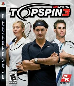 Top Spin 3 - Playstation 3 Game