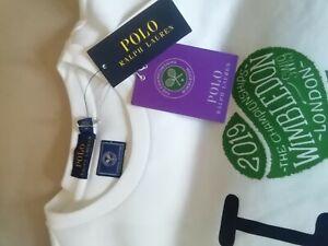 Polo Ralph Lauren Wimbledon Size L White