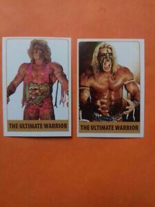 The Ultimate Warrior WRESTLING 2 Stickers By RAFO WWE, WWF, RAW, UNDERTAKER